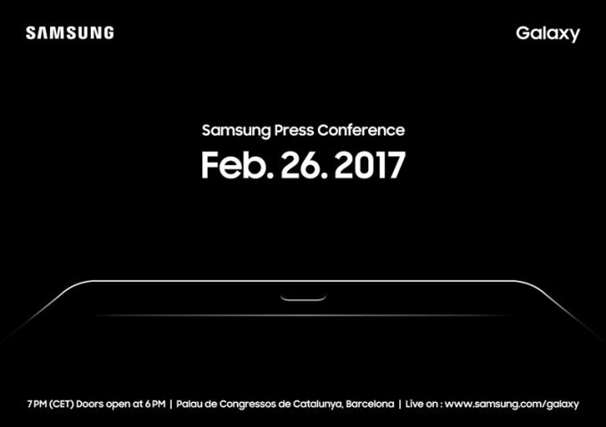 Samsung - zaproszenie na konferencje prasową (26.02.2017)