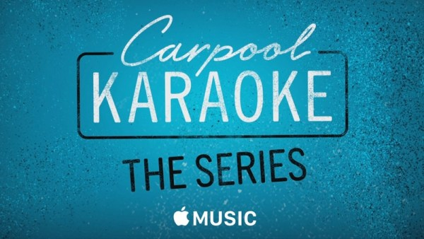 """Carpool Karaoke"" będzie streamowane w Apple Music"