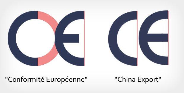 CE: Conformité Européenne vs. China Export