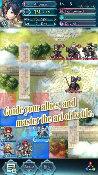 Fire Emblem Heroes (screen iOS)
