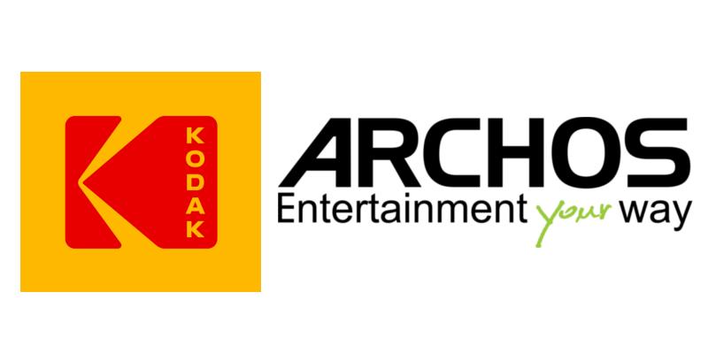 Kodak, Archos - logo