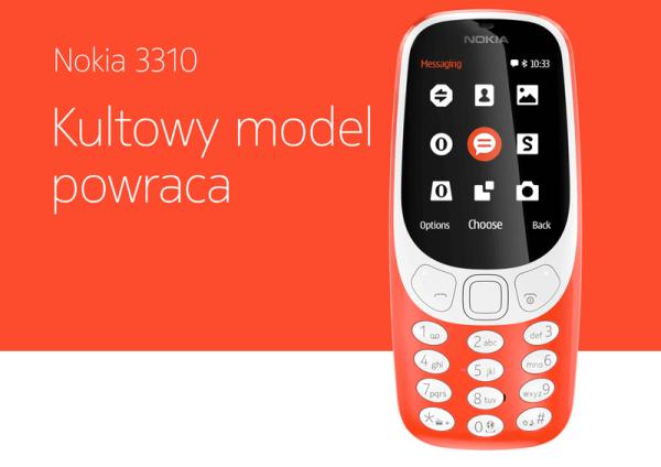 Nokia 3310 – poznaj specyfikację nowej odsłony telefonu