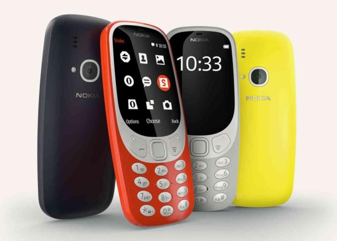 Nokia 3310 z 2017 roku dostępna będzie w 4 kolorach