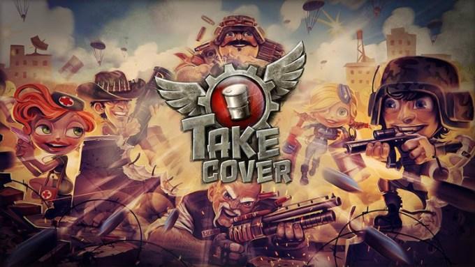 Take Cover (grafika tytułowa, logo)