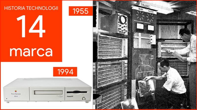 14 marca - Dzień w historii technologii