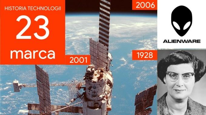 23 marca - Dzień w historii technologii