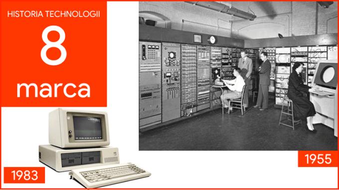8 marca - Dzień w historii technologii