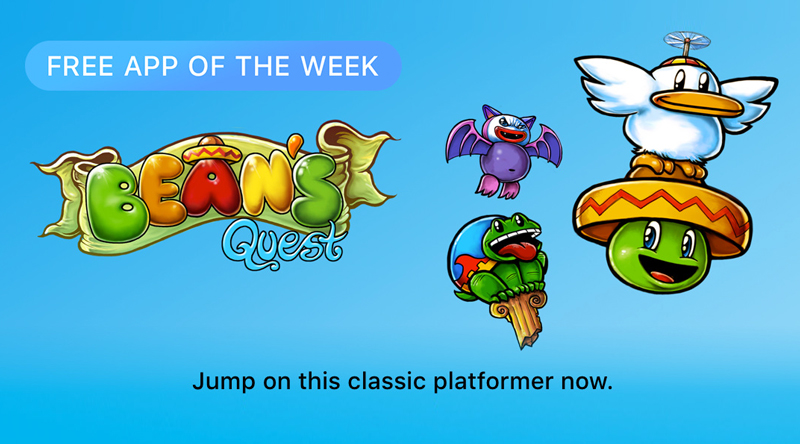 Bean's Quest - Free App of the Week (App Store)