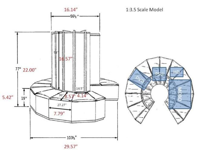 Model komputera Cray-1