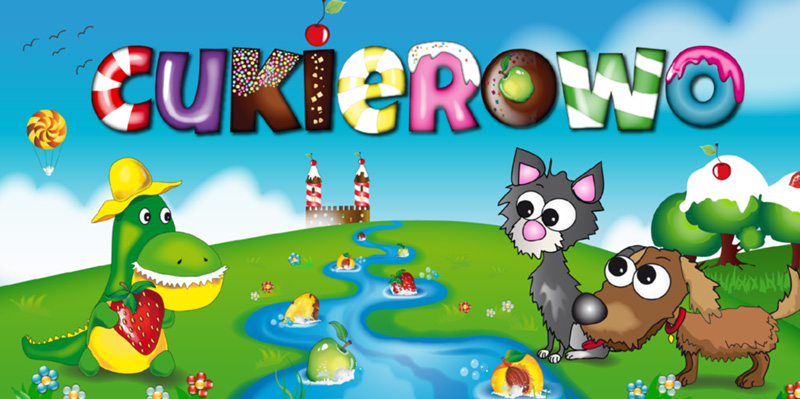 Cukierowo - gra mobilna dla dzieci