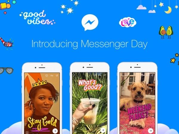 Facebook Messenger Day dostepny na całym świecie