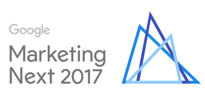 Google Marketing Next 2017 (logo)