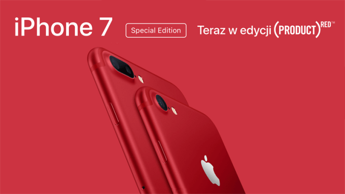 iPhone 7 (PRODUCT)RED - special edition