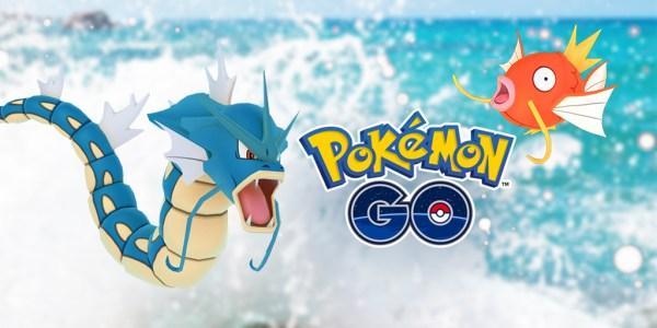 Wystartował Pokemon GO Water Festival