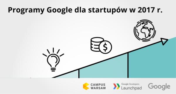 Google uruchamia 3 nowe programy dla polskich startupów