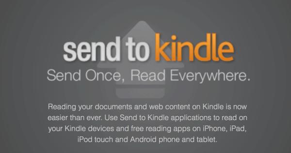 """Kindle na iOS-a dostało w końcu funkcję """"send to kindle"""""""
