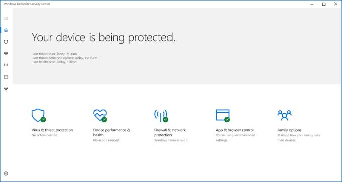 Windows 10 Creators Update - bezpieczeństwo i prywatność