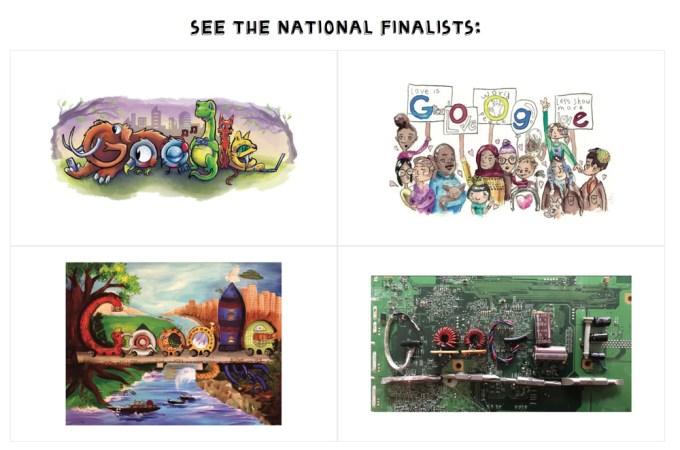 Finaliści konkursu Doodle 4 Google 2017
