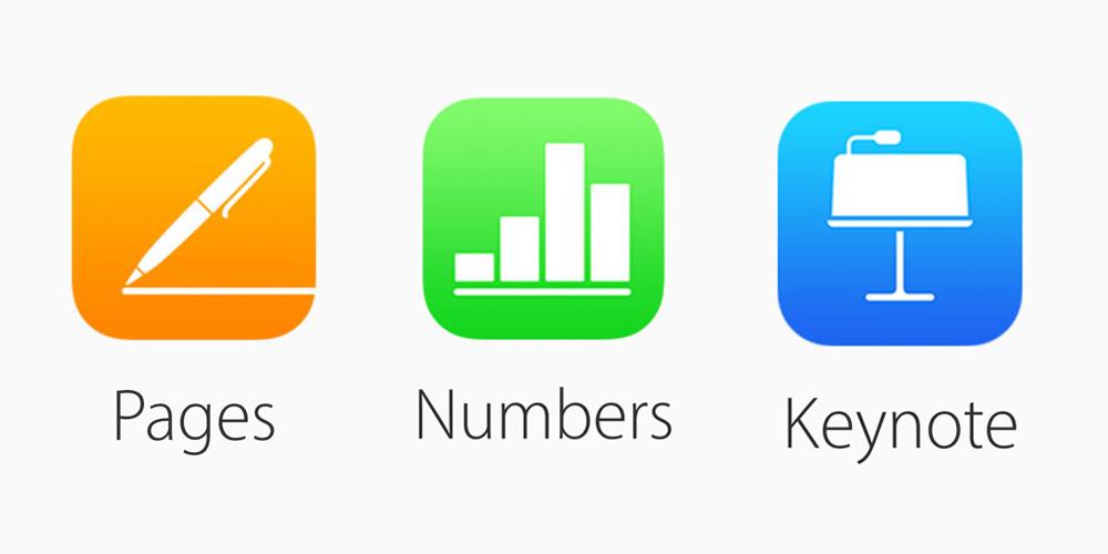 iWork Apple (Pages, Numbers, Keynote) za darmo dla wszystkich