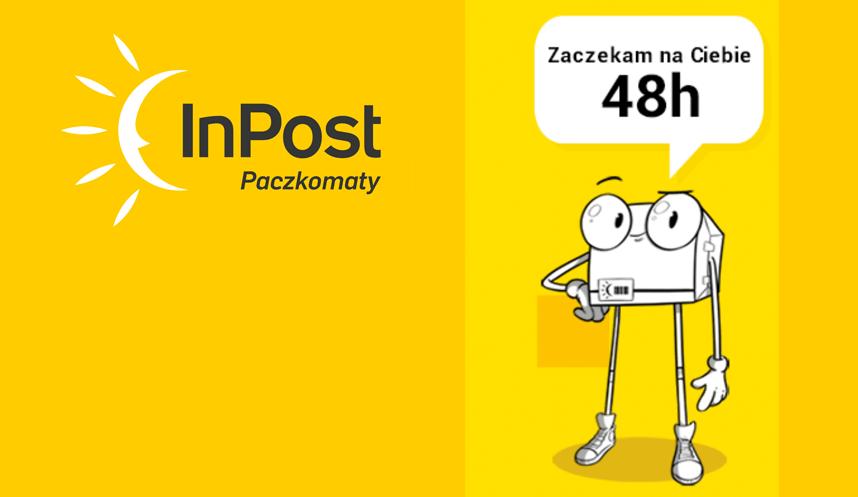 48h na odbiór paczki z Paczkomatu od 14 maja 2017 r.