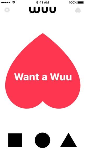Screen z aplikacji Wuu (iOS)