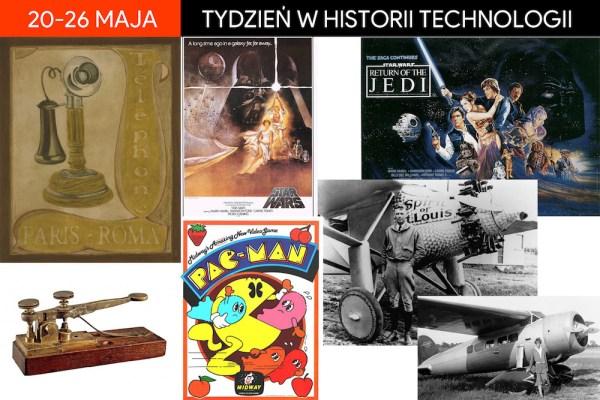 [20-26 maja] Tydzień w historii technologii