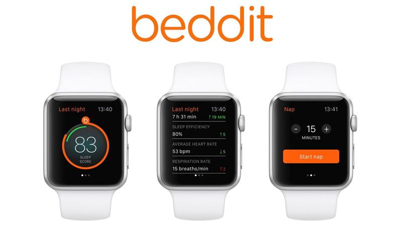 Beddit na Apple Watcha