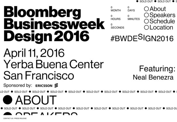 Bloomberg Businessweek Design 2016