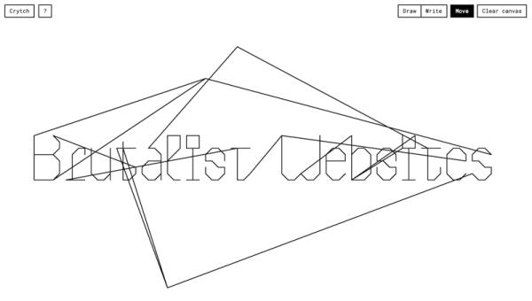 """""""Brutalizm"""" to nowa awangarda projektowania stron rodem z lat 90."""