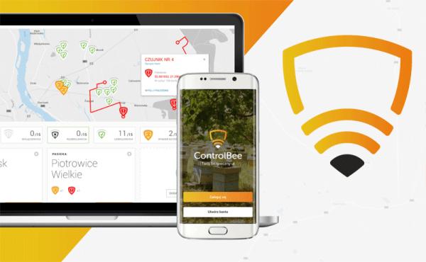 ControlBee pozwala kontrolować ule przez smartfona