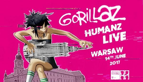 Gorillaz z Humanz w 360° na żywo już w czerwcu!