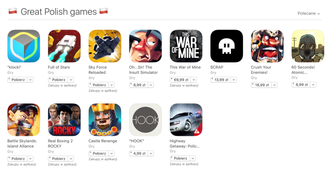 Great Polish games - App Store