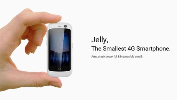 Jelly to najmniejszy na świecie smartfon z 4G