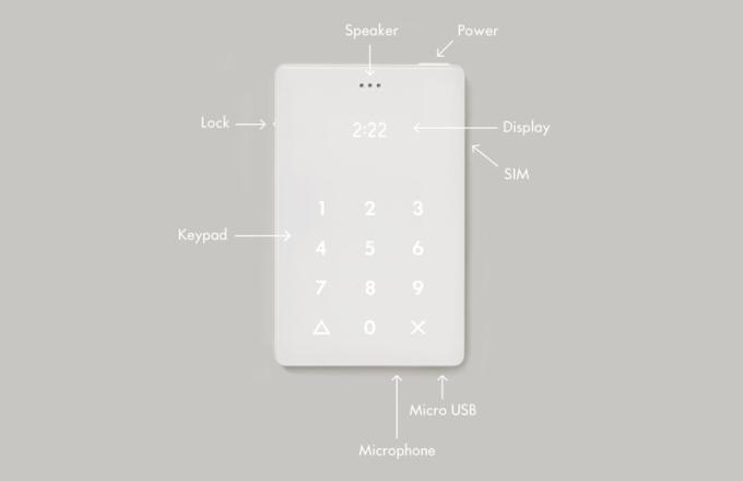 The Light Phone - opis funkcji