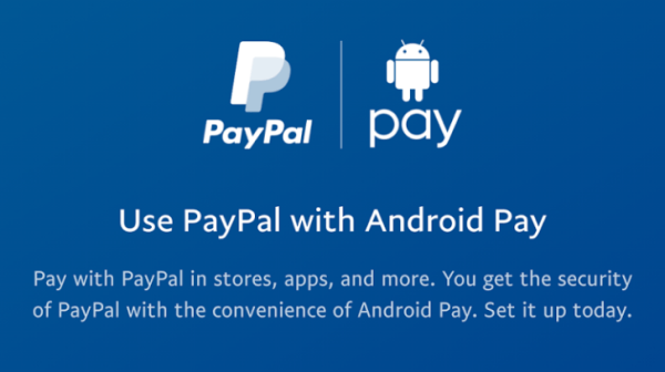 Można już dodać konto PayPal do usługi Android Pay