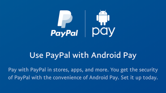PayPal w Android Pay