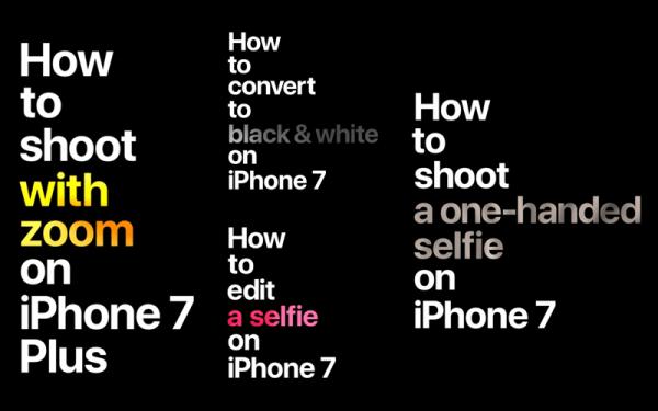 Filmy instruktażowe: jak robić zdjęcia iPhone'em 7?