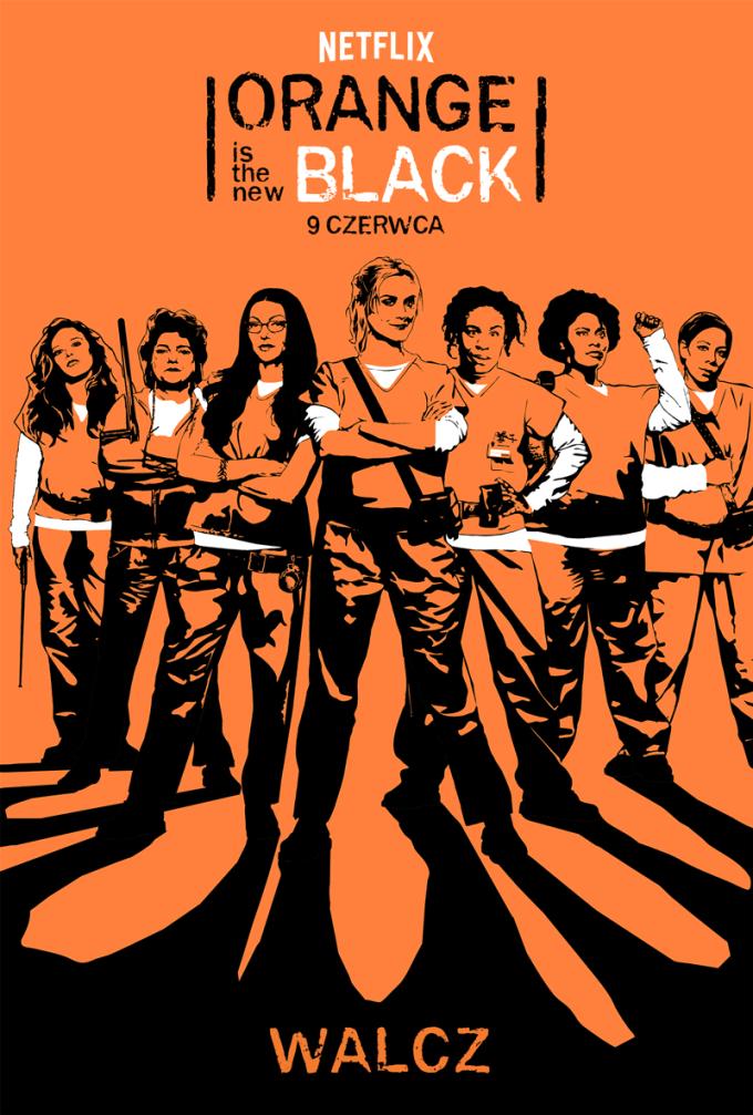 Oficjalny plakat serialu Orange Is the new Black (5. sezon)