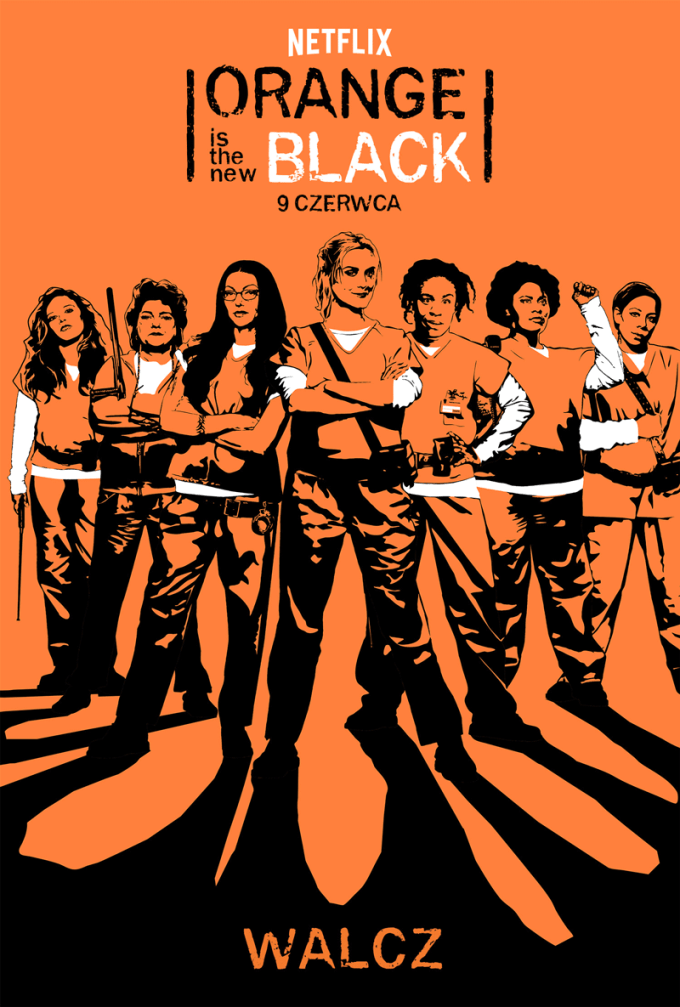 Oficjalny plakat serialu Orange Is the new Black (5. sezon)