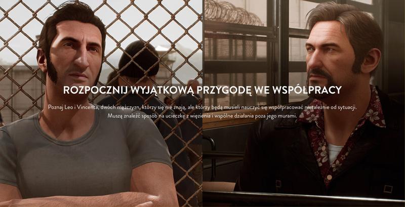 A Way Out - gra na podzielonym ekranie