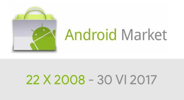 Android Market przestanie istnieć 30 czerwca