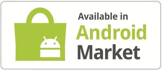 Dostępne w sklepie Android Market