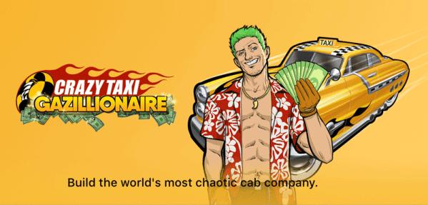 """SEGA wydało nową grę """"Crazy Taxi Gazillionaire"""""""