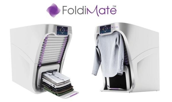 FoldiMate Family™ ta maszyna sama prasuje i składa pranie!