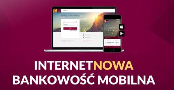 Pierwsza odsłona nowej bankowości internetowej i mobilnej Alior Banku