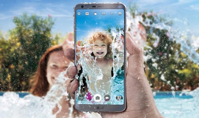 LG G6 - wodoodporność IP68