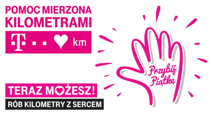 Pomoc Mierzona Kilometrami - T-Mobile Polska (5. edycja) - Przybij piątkę!