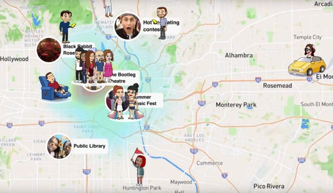 Snap Map na Snapchacie