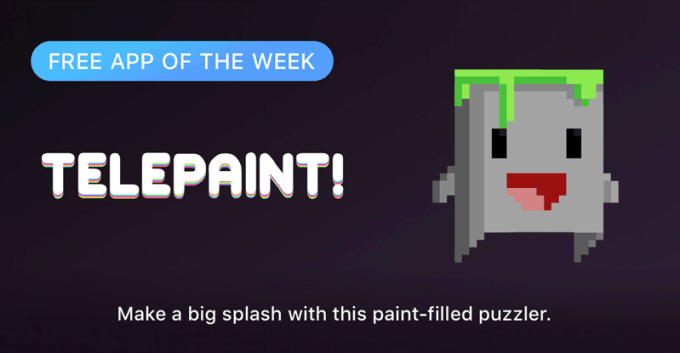 Telepaint - Free App of the Week