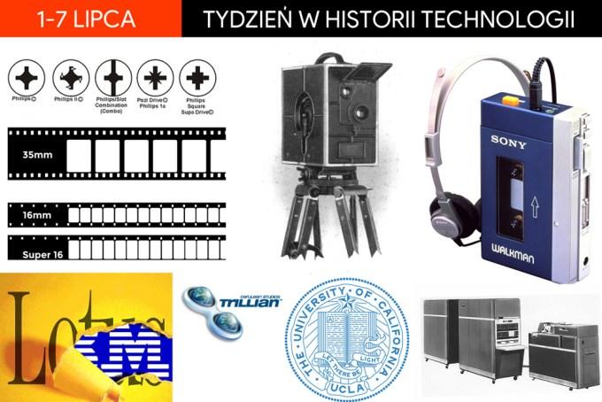 1-7 lipca: Tydzień w historii technologii